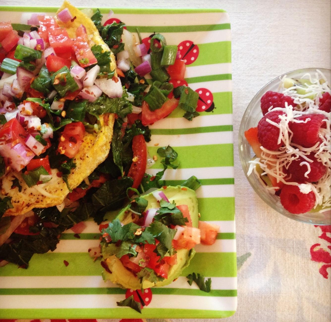 Guacamole Omelette With Salsa Recipes — Dishmaps